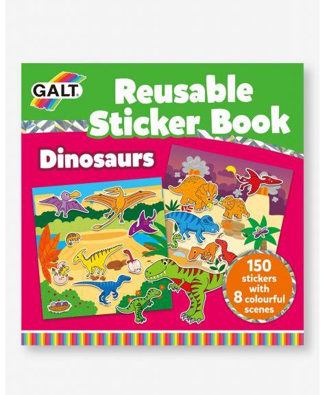 מדבקות רב פעמיות דינוזאור GALT