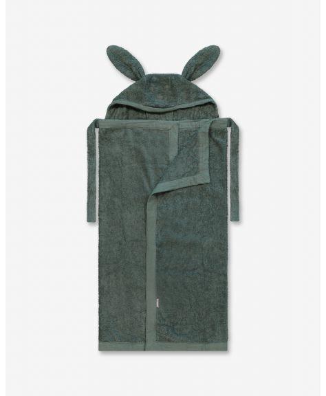 מגבת רחצה עם קשירה לצוואר