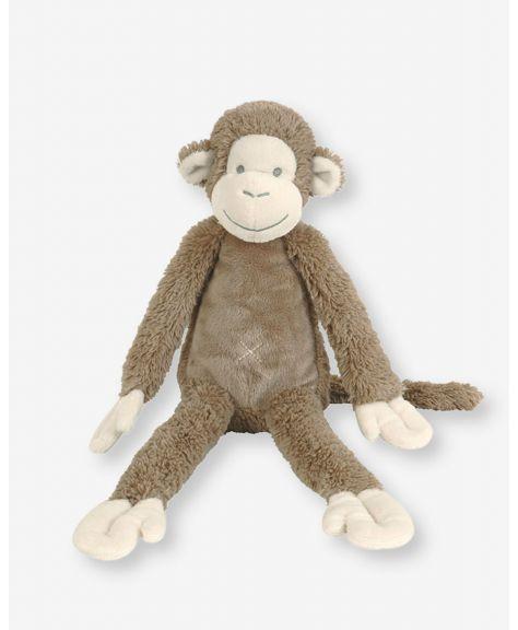 """בובת מיקי - קוף חום גדול 43 ס""""מ - HAPPY HORSE"""