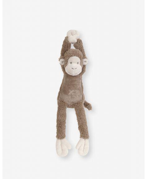 """בובת מיקי - קוף חום מנגן 40 ס""""מ- HAPPY HORSE"""