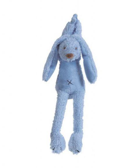 """בובת ריצ'י ארנב כחול פטרול מנגן הפי הורס 34 ס""""מ - HAPPY HORSE"""