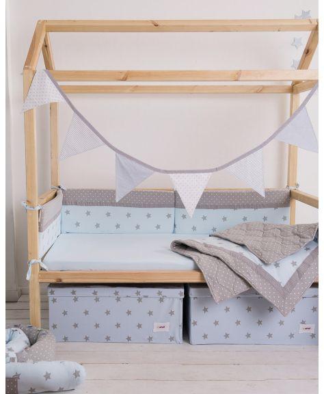 סט מצעים קלאסי למיטת תינוק