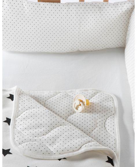 סט מצעים קלאסי לעריסת תינוק