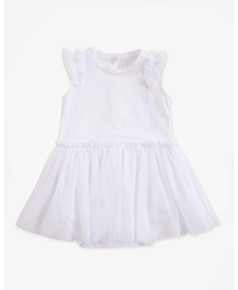 שמלת בגד גוף טול
