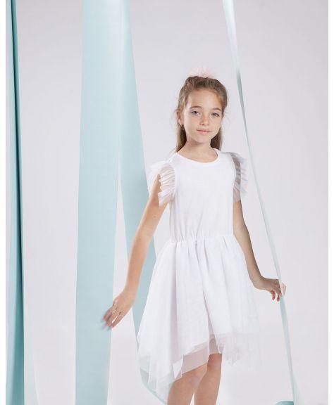 שמלת טול מקסי