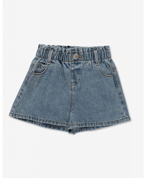 מכנסי ג'ינס קצרים לאביס