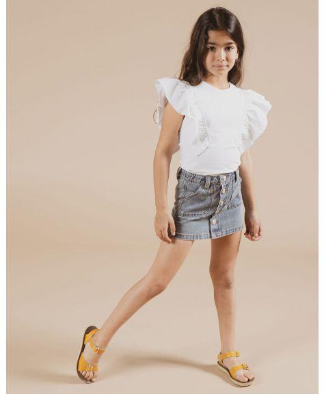 חצאית ג'ינס באטנס