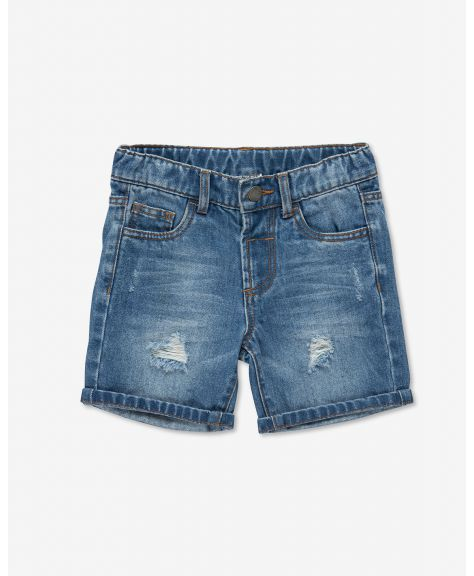 מכנסי ג'ינס קצרים טירס