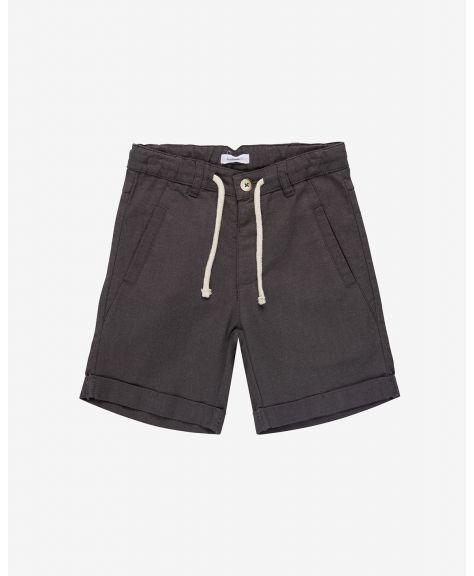 מכנסי פשתן קצרים הולי