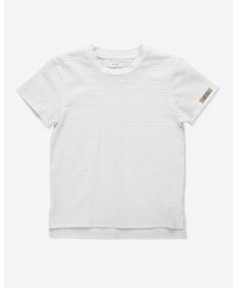 חולצה שרוולים קצרים טקסטור