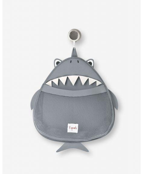 ארגונית לאמבטיה כריש 3Sprouts