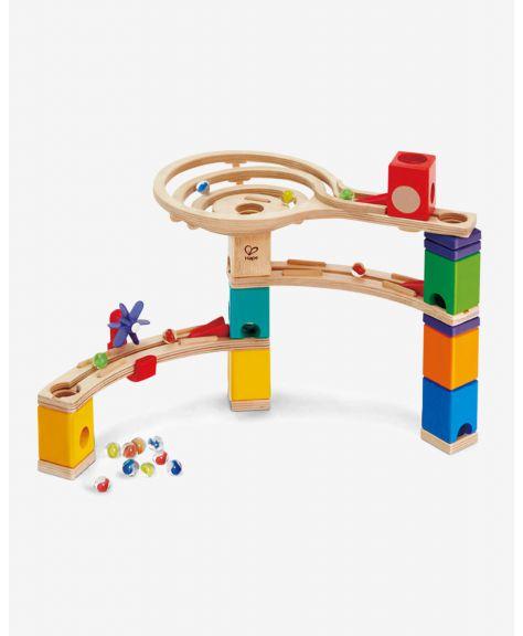 משחק מדרון גולות מעץ - אל קו הסיום HAPE